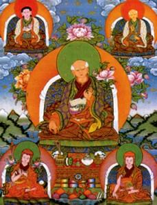 Los 5 Fundadores Sakya.