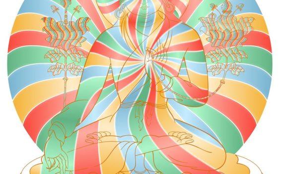 Cuerpo de Arco Iris - Budismo